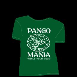 t-shirt pangolin vert bouteille