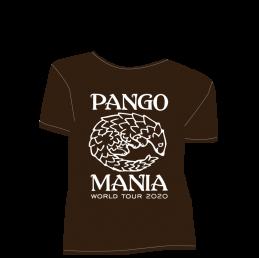 t-shirt pangolin chocolat
