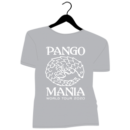 t-shirt pangolin gris chiné