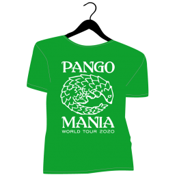 t-shirt pangolin vert irlandais