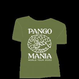 t-shirt pangolin kaki