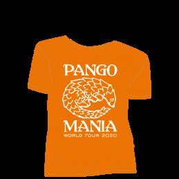 t-shirt pangolin orange