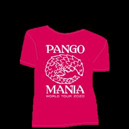 t-shirt pangolin fushia sorbet