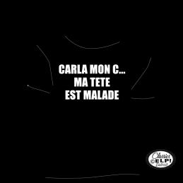 Carla mon C... Ma tete est...