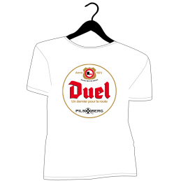 T-shirt Duel détournement bière