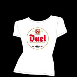 T-shirt détournement bière Duvel