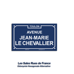 Avenue Jean-Marie le...