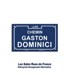 Chemin Gaston Dominici