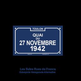 Quai du 27 Novembre 1942