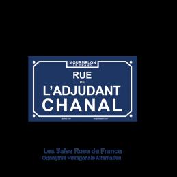 Rue de l'adjudant Chanal
