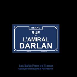 Rue de l'amiral Darlan