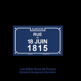 Rue du 18 Juin 1815