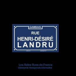 Rue Henri-Désiré Landru