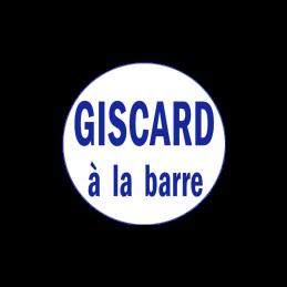 Giscard à la barre