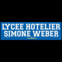Lycee hotelier Simone Weber