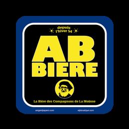 Sous-bock AB Bière