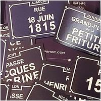 Stickers - Les sales rues